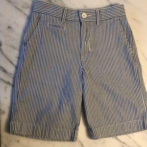 Boys Ralph Lauren seersucker shorts